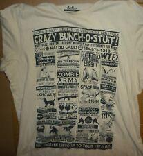 THREADLESS When Geek-ness Goes Retro… Large T-Shirt New