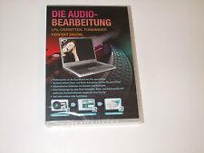 DIE AUDIO-BEARBEITUNG  ( PC-CD ROM )