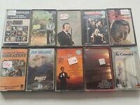 Bundle Of 10 Cassette Tapes Acker Bill, Herb Alpert, James Last, Vaughn ...etc