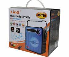 Cassa Speaker Bluetooth Portatile 10W Radio Fm Usb Tf Linq Cs-t20