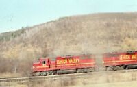 LVRR LEHIGH VALLEY Railroad Locomotives 311 Original 1976 Photo Slide