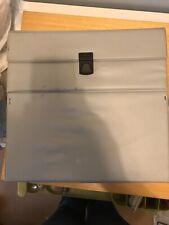 Vintage Grey Record Case