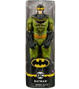 Batman Action Figure Camo Suit 1st Edition 12-Inch DC Comics Superhero Caped