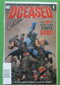 DCeased #1 Dynamic Forces Signed by Greg Capullo 11/240 w/ COA DC Comics 2019