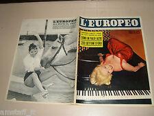 EUROPEO=1956/37=ROSALINA NERI=ELSA MARTINELLI=MONTECORONE=MARIA LUISA GAROPPO=