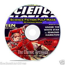 Science Fiction Adventures, Stories, Vintage Pulp Magazine, Fiction DVD CD C69