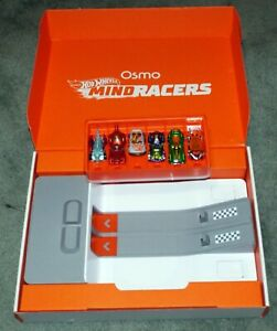Osmo Hot Wheels Mindracers Launchpad + 6 Cars with Box
