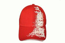 MONTREAL Title With White Sketch' Drawing RED  Embroidered HAT CAP ..  NEW