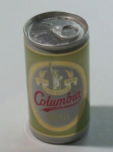 COLUMBIA BEER Pale Brew Beer Can 12 Oz Pull Tab Carling Brewing Company