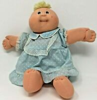 Cabbage Patch Kids Vintage Coleco 1982 Baby Boy Blonde Hair Green Eyes Doll