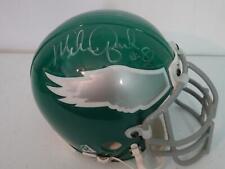 Mike Quick Philadelphia Eagles Autographed Football Mini Helmet JSA #HH11205