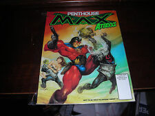 PENTHOUSE MAX VOL. 1 #2 NOVEMBER 1996 ELECTION '96 SPECIAL THE CLINTONS-GORE ETC