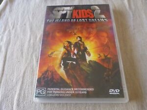 Spy Kids 2 - The Island Of Lost Dreams (DVD) Region 4 Alexa PenaVega
