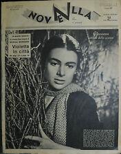 * NOVELLA N°7 ANNO XXXV° 14/FEB/1954 : ELEONORA ROSSI DRAGO - FLORA LILLO -