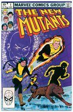 NEW MUTANTS #1(3/83)ORIGIN KARMA/2nd APP. NEW MUTANTS(X-MEN/WOLVERINE)CGC IT/HOT
