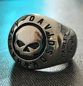 HD Ring for lovers of motorcycle harley✔new Edition 2021 desing unisex