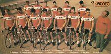Cyclisme ciclismo cycling team equipe BIC 1972.