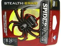 Spiderwire 1339736 Glow Green Stealth Braid Superline 20 Lb 300 Yds Fishing Line