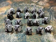 20 Orc warriors Orcs and Goblins greenskins Warhammer Fantasy