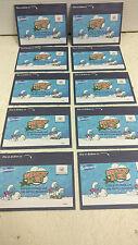 10 pochettes de 3 cartes autocollantes Schtroumpf La Vie ! Smurfs,Schlumpf,Puffi