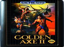 Golden Axe II 16 bit MD Game Card For Sega Mega 2 1994 Cartridge Genesis 1991