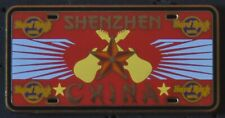 Hard Rock Cafe Shenzhen License Plate Series Pin
