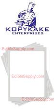 """KOPYKAKE 8"""" x 10.5"""" Frosting Sheet Edible Paper Icing Sheet - FS0811-T"""