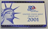 2001-S Proof Set United States US Mint - Free Shipping
