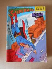 Superman e Batman Robin n°8 1969 Sagedition en francais [G756] BUONO