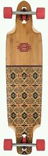 Globe Spearpoint 40 Red Bamboo Drop Through Longboard Arrowhead Series skater