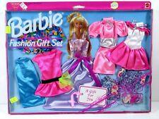 *823 Nib Barbie Doll 1993 6 Complete Fashions Gift Set 68253 Easy To Dress