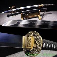 Way of the Dragon Japanese Katana Samurai Sword T10 Steel w Clay Tempered #2525