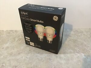 GE Full Color Smart Bulbs (2 Pack)