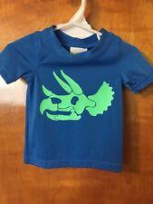 Nwt - Infant Boys, Crazy 8, Blue & Green Swim Shirt, 6-12 Months