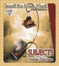Subjects Within The Noble Qur'aan Lecture series by Mufti Ismail Menk ( 3- MP3 C