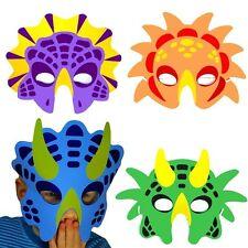 German Trendseller® - 8 x Dino Masken aus Schaumstoff ┃ für Kinder ┃ Dino Party