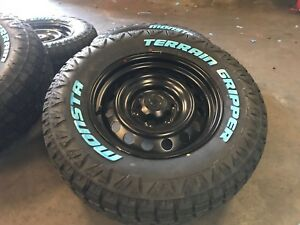 Toyota Hilux 17 Inch Wheels And Tyres 265/70/17 Monsta Terrain Gripper Brand New