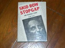 Alcoholics Anonymous Collectors! RARE SIGNED Skid Row Stopgap M Larson 1ST/1ST