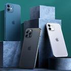 ULTRA DÜNN iPhone Handy Hülle für 11 12 13 Pro Max Mini Schutz Case Cover Slim