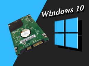 Panasonic ToughBook CF-30 HDD Laptop Hard Drive W/ Windows 10 Pro