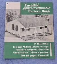 1949 EASI-BILD BUILD IT YOURSELF PATTERN BOOK - HOME DECOR