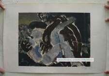 Leopoldo Presas Serigraphy On Paper & Signature 60's