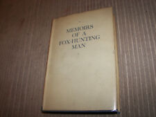 Memoirs of a Fox-Hunting Man 1928 HCDJ first edition second issue