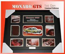 HOLDEN MONARO GTS FIRST GENERATION MEMORABILIA LIMITED EDITION 499 w/ C.O.A