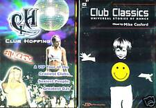 Club Hopping (DVD) & Club Classics (DVD) - 2 Brand New And Sealed DVDs