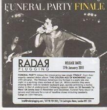 (CG145) Funeral Party, Finale - 2011 DJ CD
