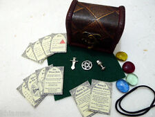 MINIATURE ALTAR KIT pocket travel set wicca wiccan pagan athame chalice spell GR
