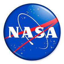 "NASA 25mm 1"" Pin Badge Button Space Universe Moon Sci Fi Astronaut Nerd Geek"