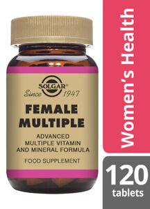 Solgar Female Multiple For Female Health - 120 Tablets