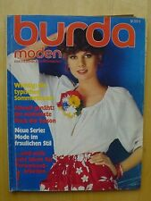 BURDA Mode 7/1977 Barbie-Mode Tricot Corsage Baby Party-Time 70er Magazine